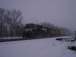 Dash 9ing through the snow